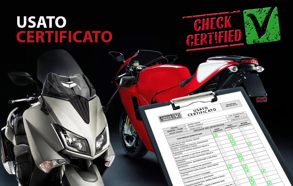 usato certificato moto